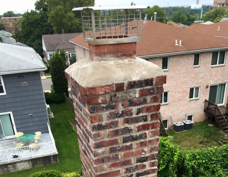 Chimney Crown Repair Nutley NJ