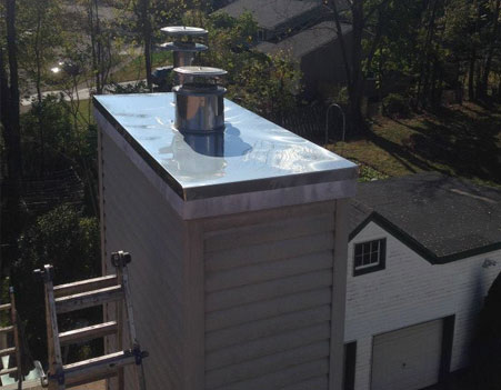 Chimney Chase Cover Repair Nutley NJ