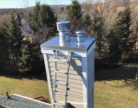 Chimney Chase Cover Repair NJ